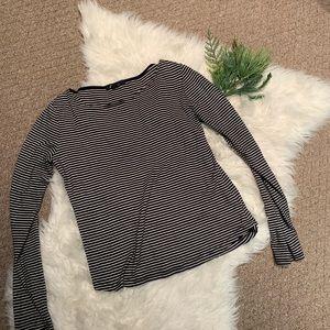 Forever 21 stripped long sleeve shirt